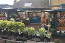 Chatsworth Farm Shop and cafe is a local must to visit.