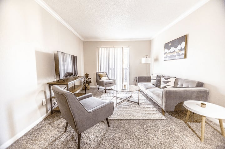 Relating 1 BR Suite and Fitness Center