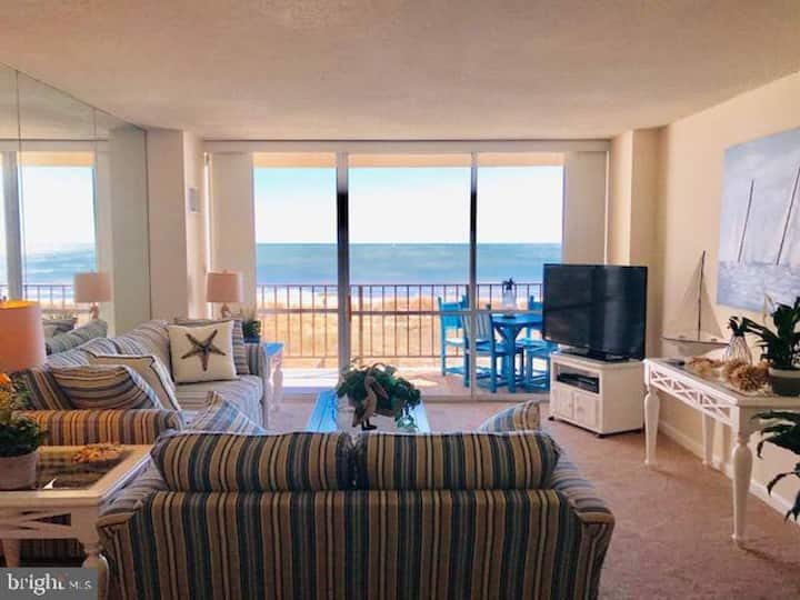 Surfside 84- Direct Oceanfront with pool!