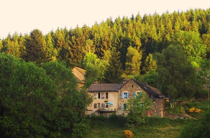 Gîte de l'Escoutal - Le Bleymard - Huis