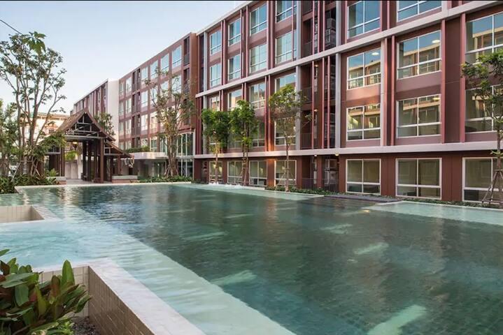 Lanna Villa Apartment middle of city 4 person max