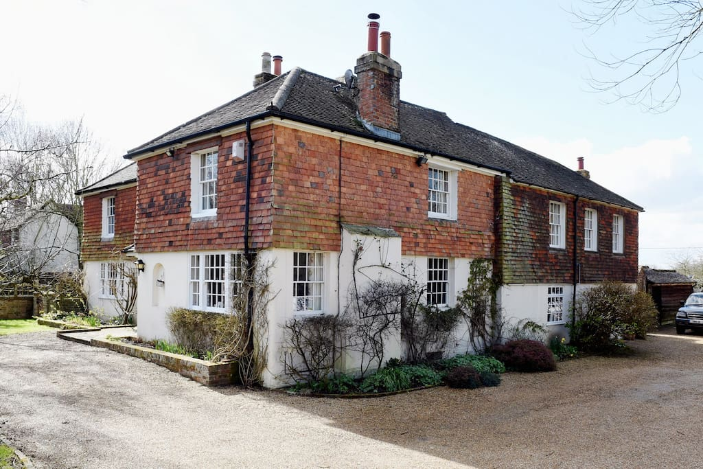 Foxhounds with Old Billiard Room to the right