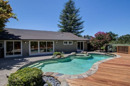 Luxury Near SF > Audio-Pool-Spa-Views-Fire pit - Walnut Creek - Haus
