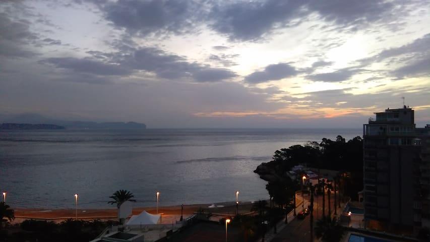 estudio frente al mar en Calpe