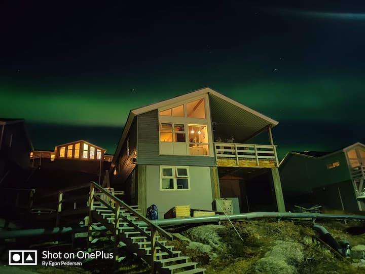Roligt lejlighed  i nærheden af isfjorden