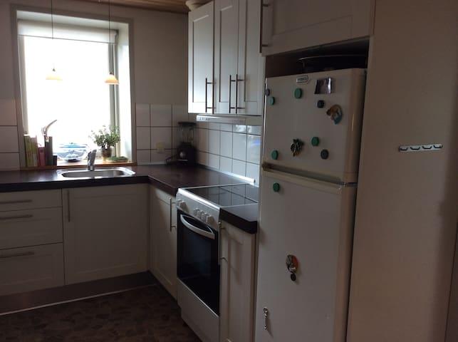 Dejlig lejlighed med super have og god beliggenhed - Hjørring - Wohnung