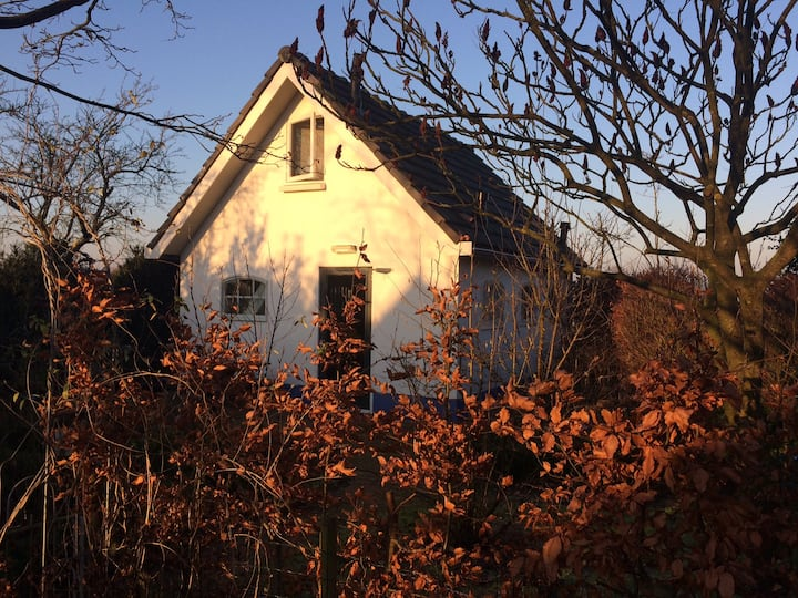 Vrijstaand huisje in de natuur vlakbij Deventer