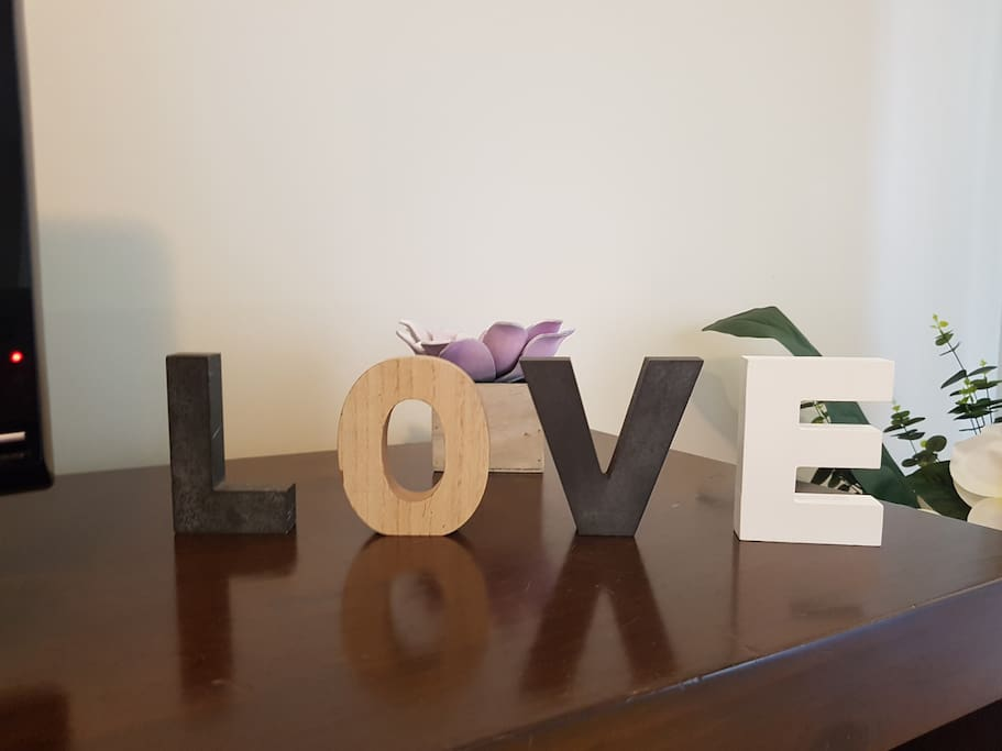 Our home is filled with love!