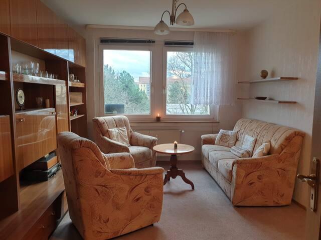 Gemütliches Helles Appartement
