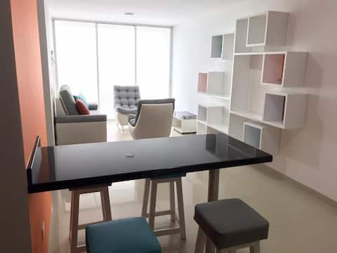 Apartamento Nuevo en Caobos 503, Full amoblado