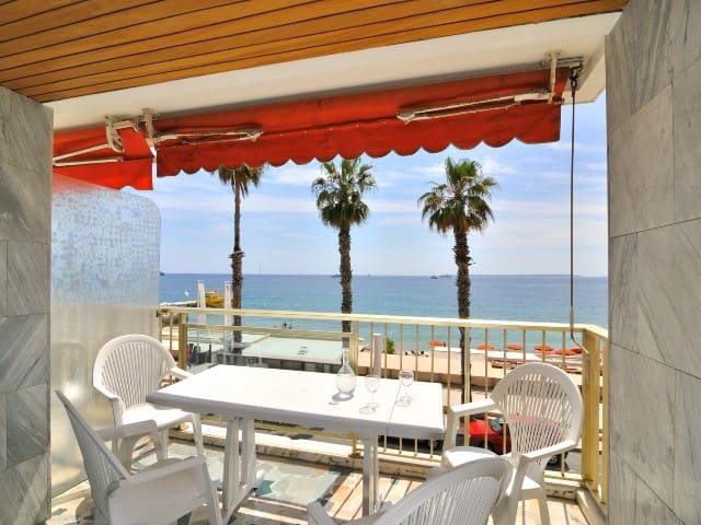 IBERIA - 3 rooms Seafront- Terrace with panoramic seaview