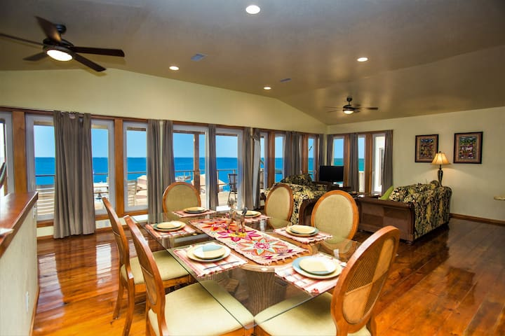 Penthouse Suite 2BR-Turtle Casa Luxury Beach Villa