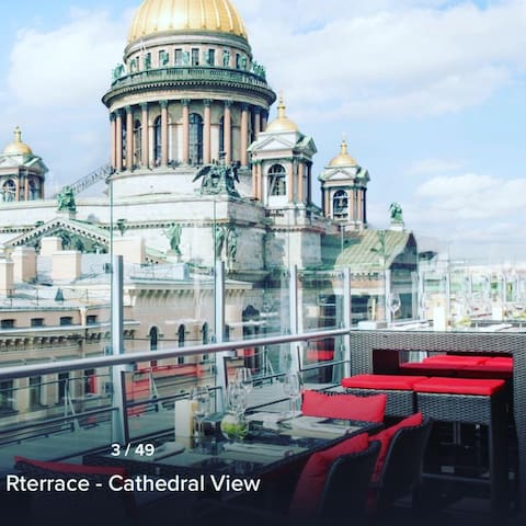 Downtown Water View 2/2 Lux Apartment by Nevsky!