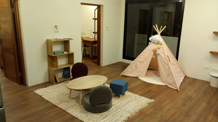 Cozy&Relax private rooms at Yilan City for 4-6 ppl