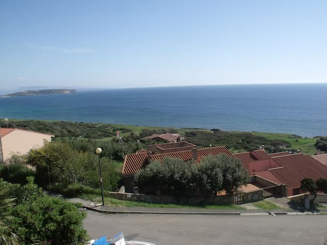 appart. su casa bifam. vista mare - Funtana Meiga