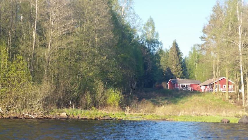 Skønt hus ved badesø