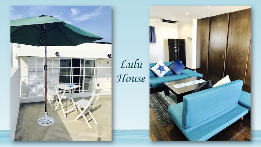 【ルルハウス】高台テラスから海が素敵!買物便利!高評価 ベッド3台あります