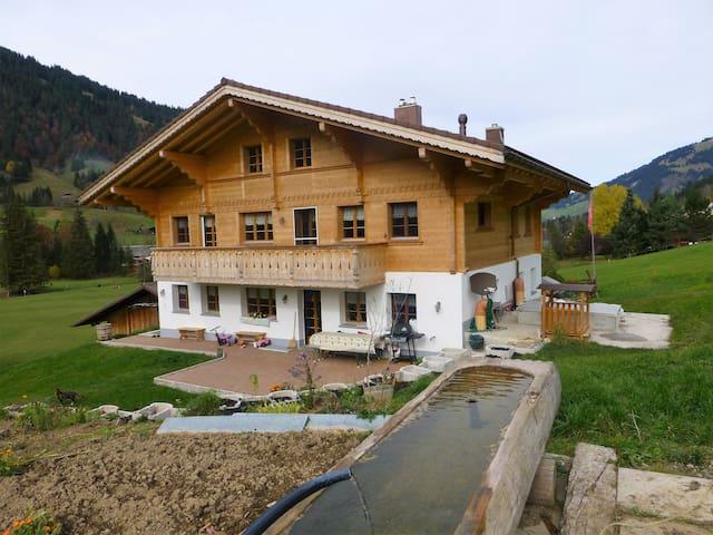 hübelihus grund bei gstaad - Saanen