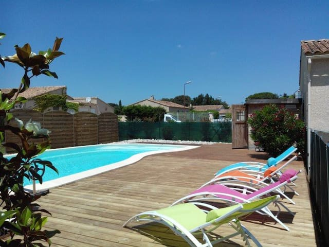 Drôme provençale - Bouchet - Maison avec piscine - Bouchet - Hus