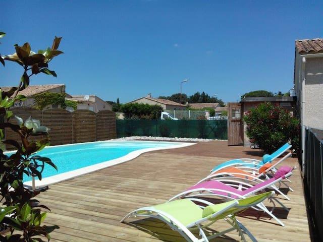 Drôme provençale - Bouchet - Maison avec piscine - Bouchet - บ้าน