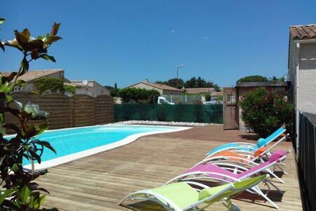 Drôme provençale - Bouchet - Maison avec piscine - Bouchet - House