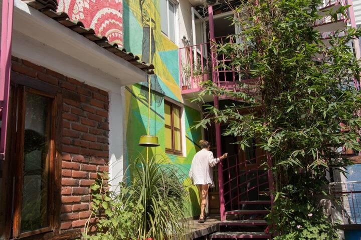 Cuarto en Casa Cultural - UNAM, Metro, Est. Azteca