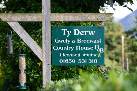 Ty Derw Country House Bed and Breakfast - Dinas Mawddwy - Bed & Breakfast