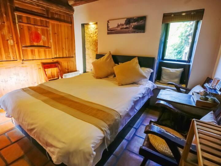土楼设计型民宿 南靖县和容庄饭店 观景家庭套房