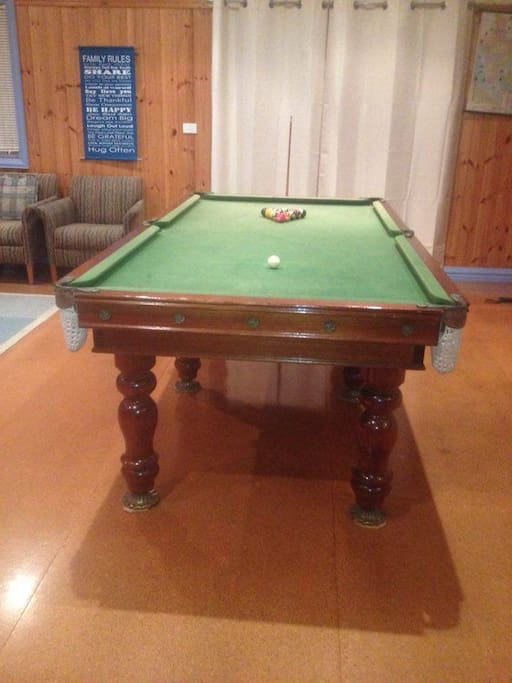 Pool Table for some competitive fun!