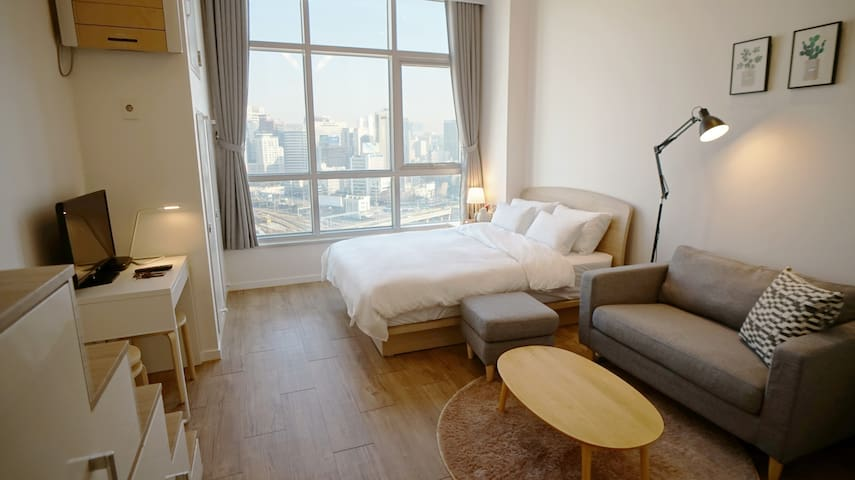 Just Seoul Stn. relax cozy place - 서울특별시 - Appartement