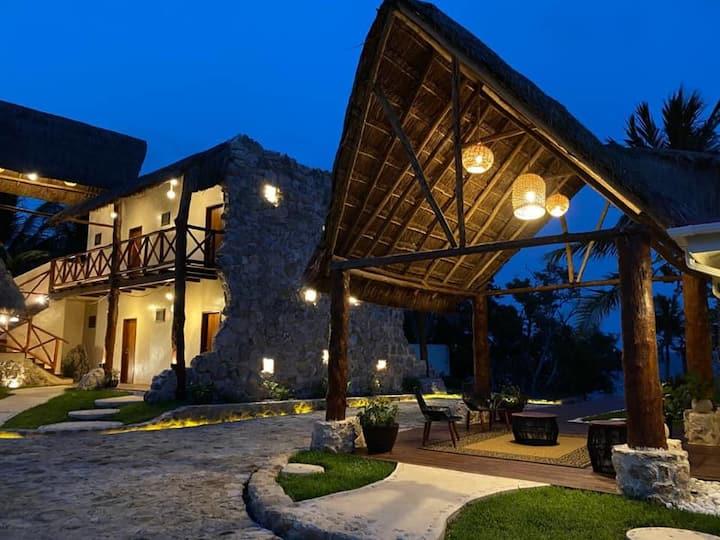 Villa Marcela, Bahia Chetumal, Quintana Roo México