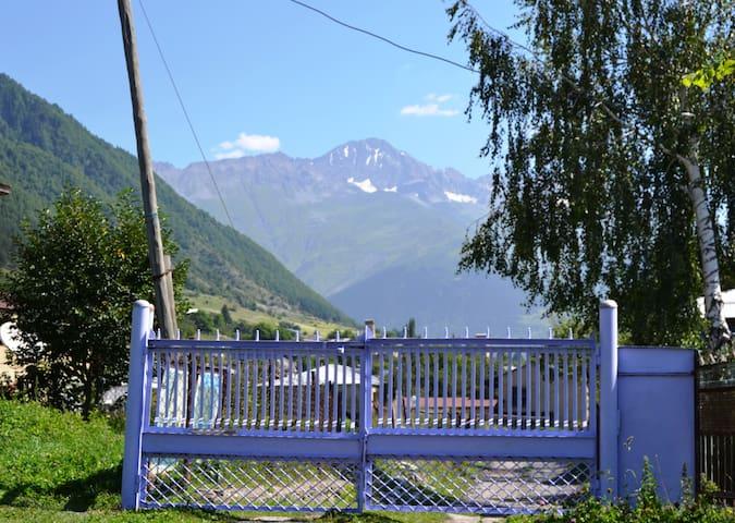 Khvintelani's Guesthouse, Upper Svaneti, Mestia - Mestia - Pension