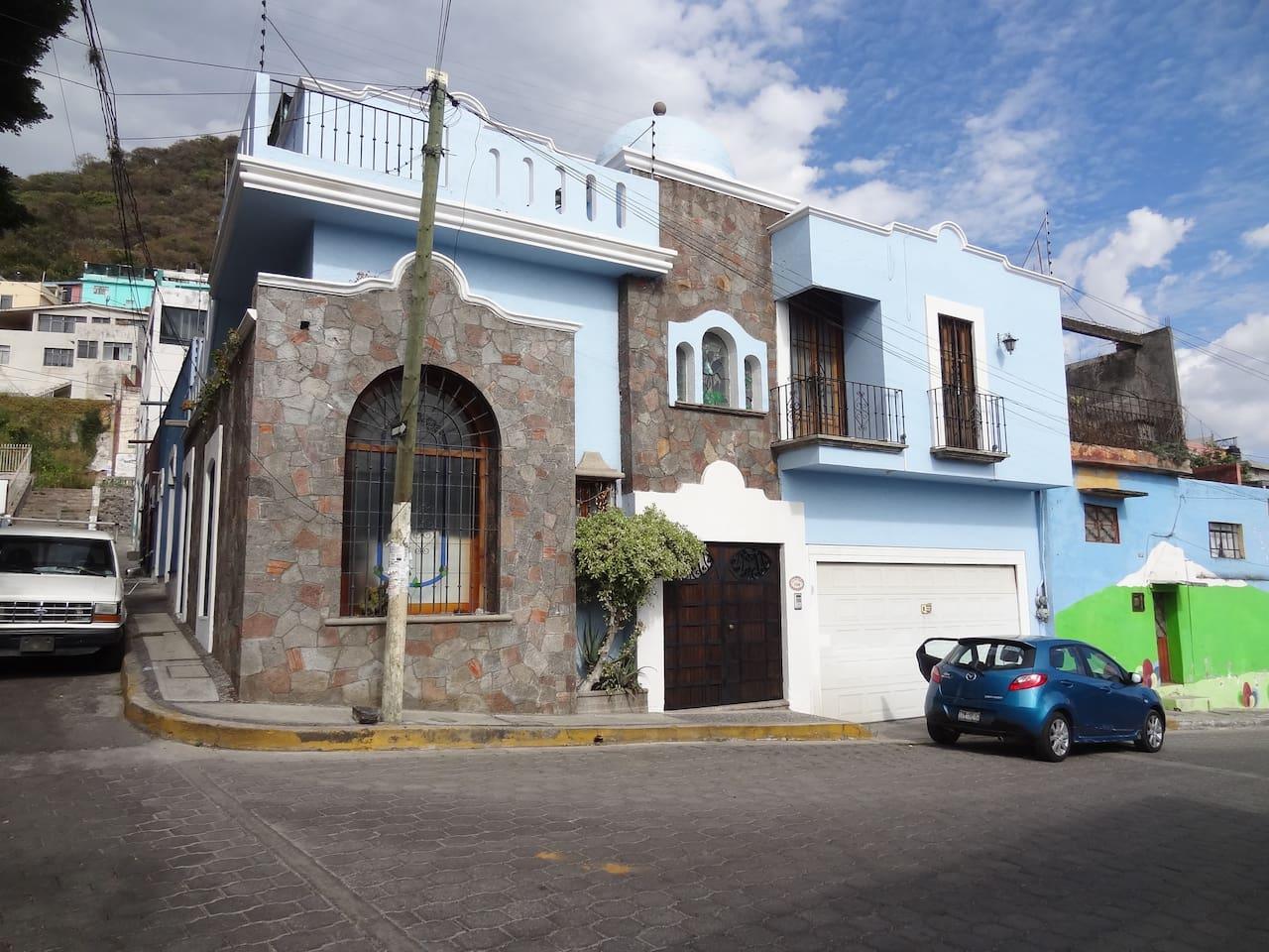 Casa Colonial-Mexicana a unos pasos del Centro de Atlixco, Puebla.