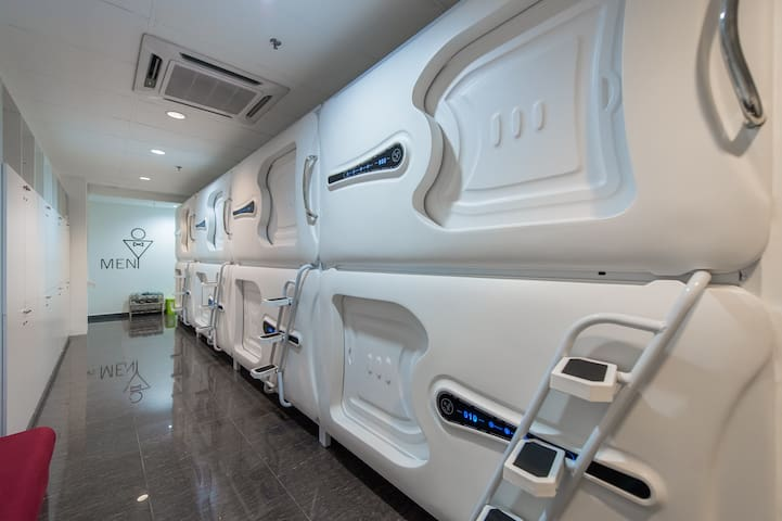 #1 : Capsule Room + WiFi (For Male Only)