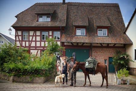 Schönes historisches Haus, Zentral, mit Garten - Ettenheim - Rumah