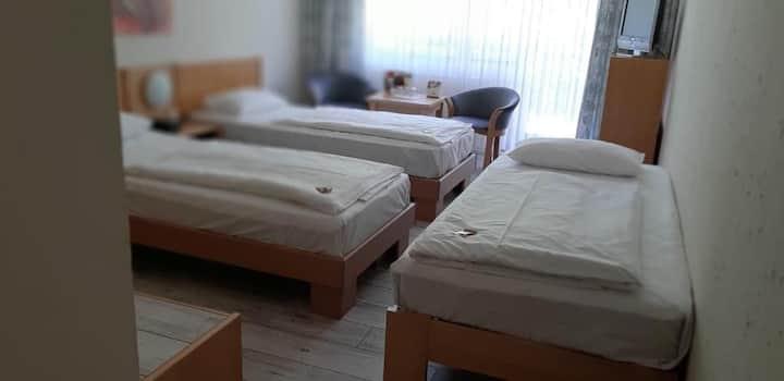 Comfort Hotel Weimar (Weimar) - LOH07265, Dreibettzimmer mit Dusche und WC
