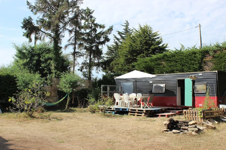 Nice bungalow, private garden near from the beach - Quiberon - บังกะโล