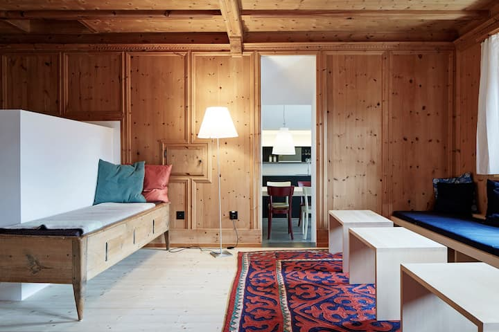 Haus Haag Ftan - Bündnerhaus mit modernem Design