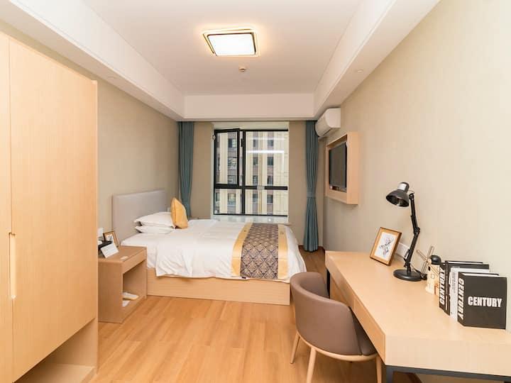 湖州市长兴县利时广场酒店式公寓—舒适大床房