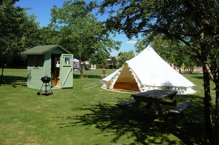 Luxury Bell Tent with Cooking-Cabin No 2