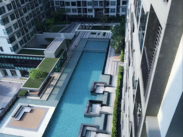 1BR-The Base Condo With Swimming Pool View - DMK - Pak Kret - Departamento