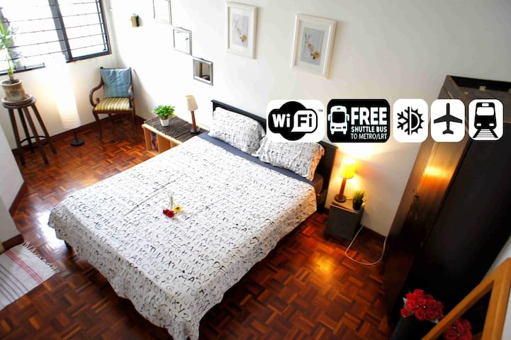 NeW HAppY SpAcE 4U CloSe 2 IKEA+MRT+WiFi+GaRdeN - Petaling Jaya - Rumah