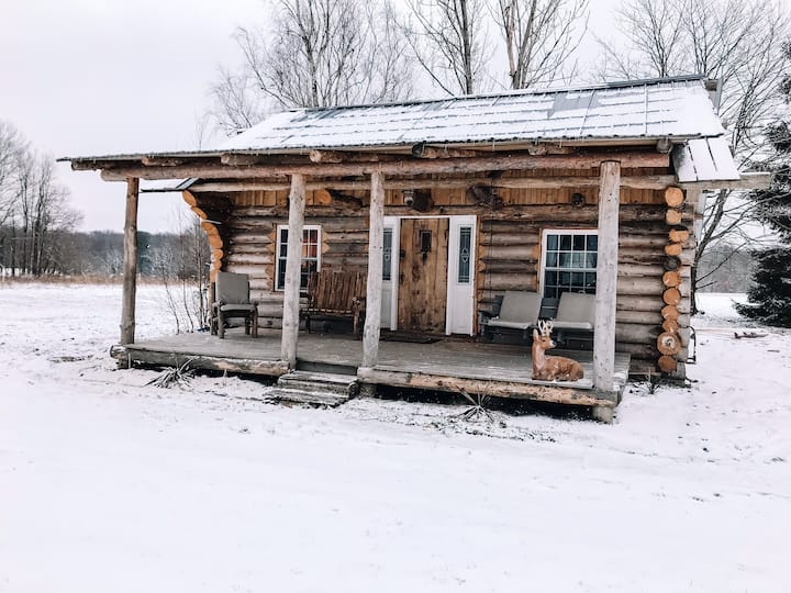 Sandy Creek Cabin - Authentic Log Cabin