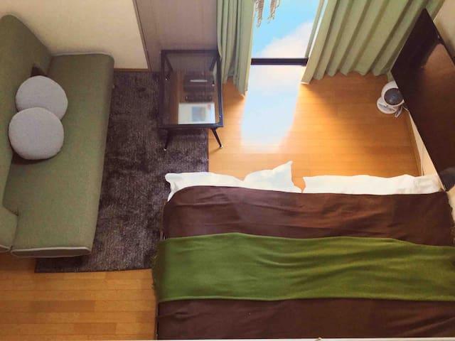 エスポアール新町Ⅳ· 熊本市中心部にあるお部屋です。FreeWi-Fiあり。熊本城まで徒歩10分