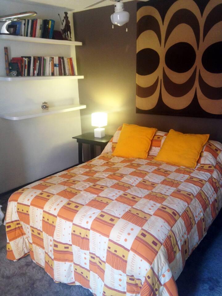 Habitación donde sentirte como en casa Coyoacan