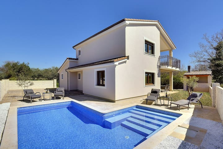 New air conditioned villa with private pool - Šegotići - Villa
