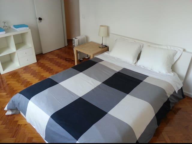 Double room at historical centre - Braga - Hus