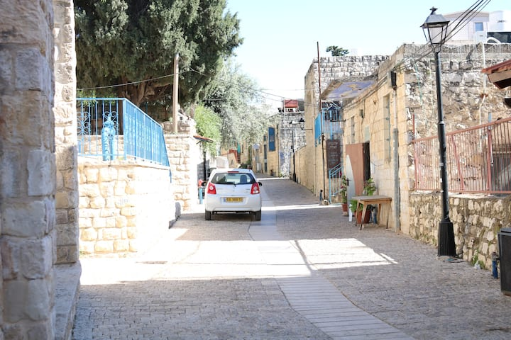 The Safed Ancient - In the Old Town