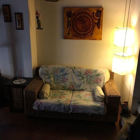 Maurizio's nice home on Tuscan hill