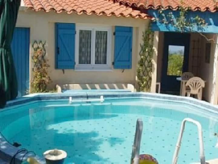 Porticcio Mini-villa  piscine, vue mer montagne